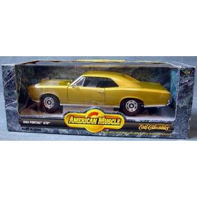 Miniatura Pontiac Gto 1966 Dourado Ertl 1/18