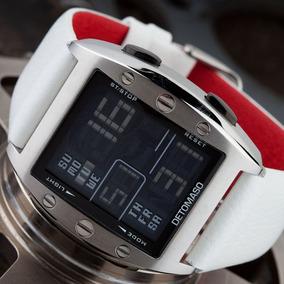 1fc5bada554 Emporio Armani Ar2043 Super Slim Leather Strap - Relógios De Pulso ...