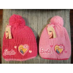 Gorros Infantiles Invierno Barbie Original