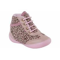 Tênis Sneaker Infantil Pinókio 19.81-841 Rosa