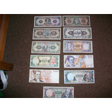 Ecuador Coleccion De Billetes Sin Circular 5 A 50.000 Sucres