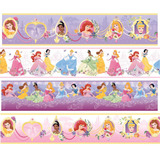 Faixa Border Decorativa Infantil Princesas Disney