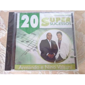 Cd Armando E Nino Valsani - 20 Super Sucessos Frete Gratis