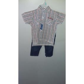Conjunto Bebe 9-12 Meses Camisa Y Jeans Polito