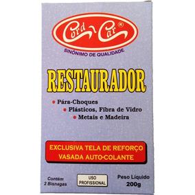 Kit Restaura Tudo Epoxi Cola Plastico Metais Madeira Fibra