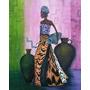 Mujer Africana 125 Pesos.