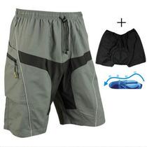 Pantaloneta Con Badana (envío Gratis) Ciclismo Mtb Dh Enduro
