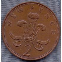 Inglaterra 2 Pence 1971 * Elizabeth Ii *