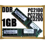 Memorias Ddr 1gb 266 333 400 Mhz Super Compatibles!