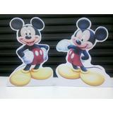 Display De Mesa Mickey Mouse C/ Suporte 19cm Alt. R$2,90unid