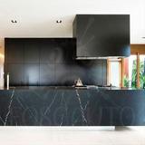 Adesivo Preto Fosco Envelopamento Móveis Cozinha Geladeira