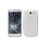 Mica Samsung Galaxy S3 Mini Azul Blanca+ Instalacion