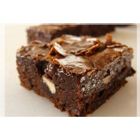 Brownies De Chocolate Con Nuez