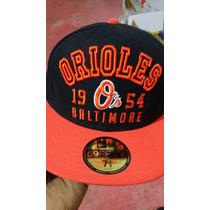 Gorra Orioles Baltimore, New Era Original Año De Fundacion