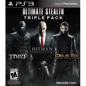 Ultimate Stealth Triple Pack Ps3 Fisico Nuevo Sellado