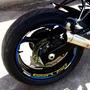 Friso + Adesivo Intern Roda M1 Refletivo Moto Suzuki Gsr 750