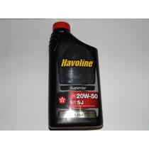 Oleo 20w50 Sj Havoline Preço Kit 12 Litros