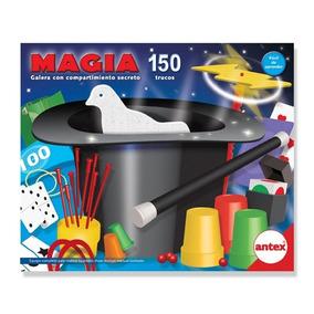 Juego De Magia 150 Trucos Con Galera Original Antex