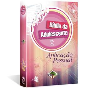Bíblia Da Adolescente Aplicação Pessoal Capa Dura