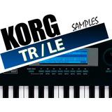 Samples De Calidad Y Profesional Para Korg Tr Y Korg Le