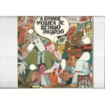 Lp Sérgio Ricardo ¿- A Grande Música De Sérgio Ricardo Lp 14