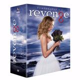 Box Revenge 1ª A 3ª Temporadas Original E Lacrada - 15 Dvds