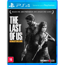 Last Of Us Ps4 Remastered + Nota Fiscal