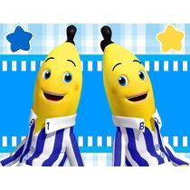 Kit Imprimible Bananas En Pijamas Diseñá Tarjetas Cumples 1