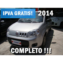 Uno 2014 Completo - Carro Sem Entrada É Na Somar!!!