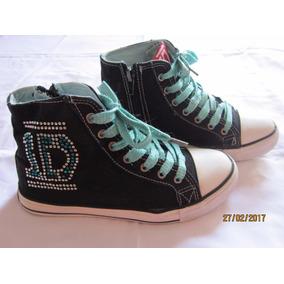 Set Zapatillas One Direction + Falda One Direction Niña