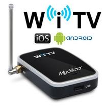 Receptor Tv Digital Smartphone Tablet Apple Android Witv