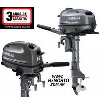 Motores Yamaha 6hp 4 Tiempos Pata Larga - Renosto