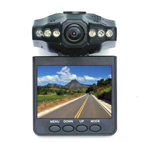 Câmera Filmadora Veicular Hd Visão Noturna Visor Lcd Espiã