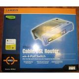 Router Cable/dsl Linksys Befsr41 4puertos Completo En Caja!!