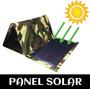 Panel Solar - Cargador Portátil 15 W 2 Puertos Usb