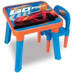 Mesa C/ Cadeira Hot Wheels 6927-0 - Barão Toys