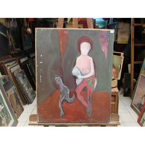 Anonimo / Personaje Abstracto / 70 X 55 / Oleo # 1697