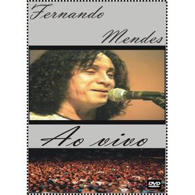 Dvd - Fernando Mendes - Grandes Sucessos Ao Vivo - Raridade