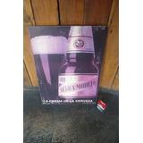 Cartel De Madera Con Póster Publicidad Cerveza Modelo Negra