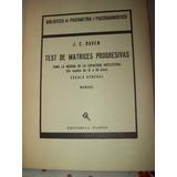 Test De Matrices Progresivas.raven 2 Libros