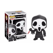 Panico Ghostface Scream Funko Pop! Vinyl Filme Terror Boneco