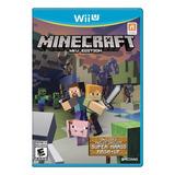 Minecraft C/ Mario Mash Fisico Nuevo Nintendo Wii U Dakmor