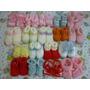 Sapatinho De Tricô Para Bebê - Modelo À Escolha