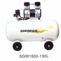 Compresor Libre De Aceite 2hp 130l