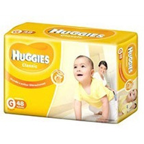 Oferta! Pañales Huggies Classic Talle G X 48 Unidades !!!