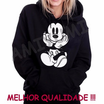 Blusa Moletom Mickey Canguru Qualidade Garantida !