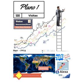 Plano 1 - Visitas, Para Sites, Lojas, Blogs