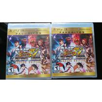 Street Fighter 4 Ps3 Nuevo, Sellado
