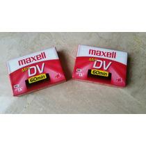 Cintas Mini Dv Maxell Nuevas