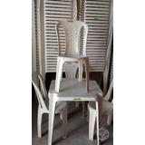 Mesas E Cadeiras De Plástico Inmetro